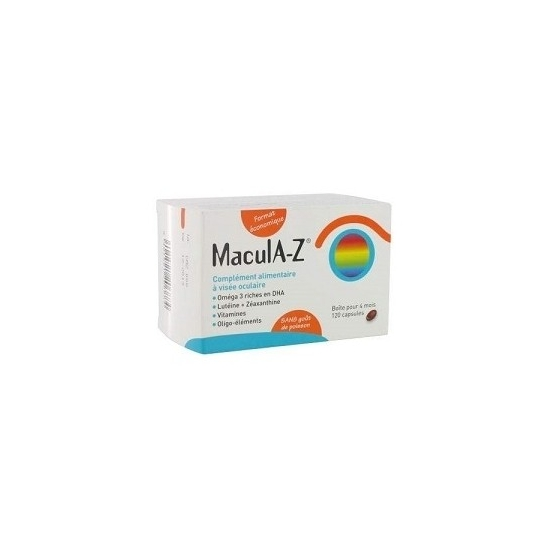Horus pharma macula Z 120 capsules