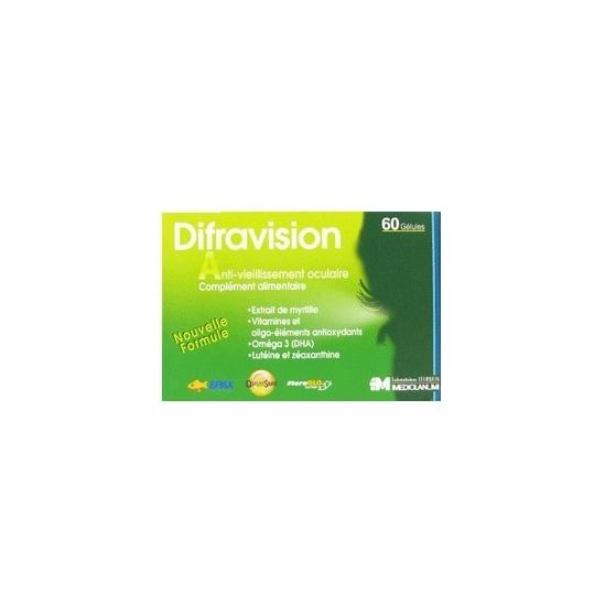 Difravision 60 gélules