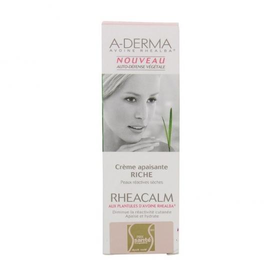 Aderma Rheacalm crème apaisante riche 40ml