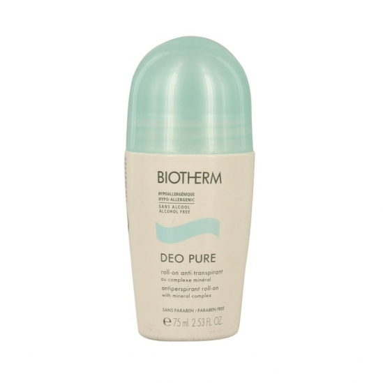 Biotherm pure roll-on anti-transpirant 75ml