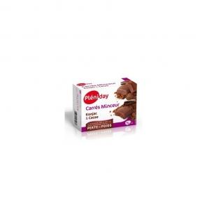 Pléniday carrés minceur konjac cacao 12 carrés