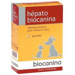 Biocanina hépato granulés pour protection et stimulation du foie des chiens et chats 80g