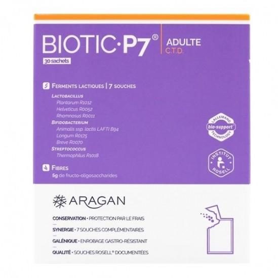 Aragan biotic 7 adulte 30 sachets