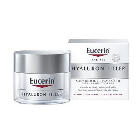 Eucerin hyaluron-filler soin de jour peau sèche spf15 50ml