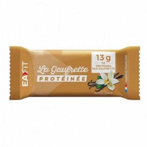 Eafit la gaufrette protéinée saveur vanille 480g