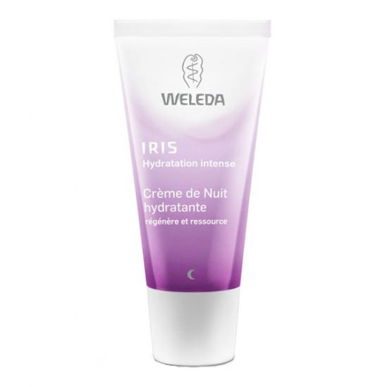 Weleda Crème de Nuit Hydratante à l'Iris 30ml