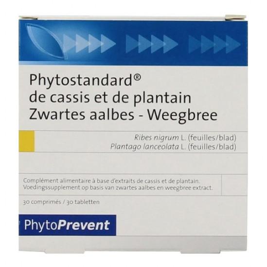 Pilèje Phytostandard Cassis Plantin 30 comprimés