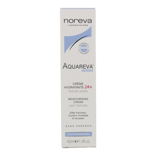 Noreva Aquareva Crème Hydratante 24h Texture Légère 40ML