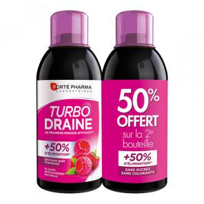 Forté pharma turbodraine framboise duo 500ml