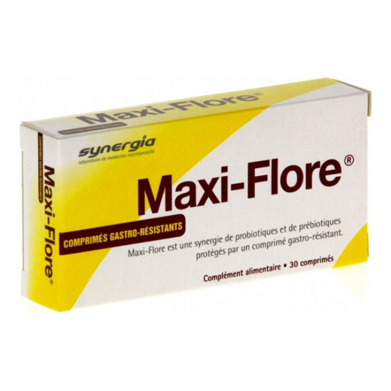 Synergia maxiflore 30 comprimés