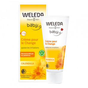 Weleda baby calendula crème pour le change 75ml