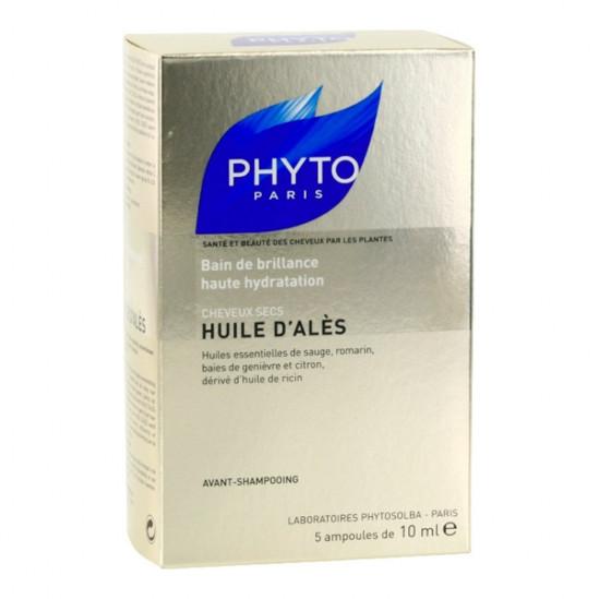 Phyto Huile d'Alès Hydratation Cheveux Secs 5 x 10 ml