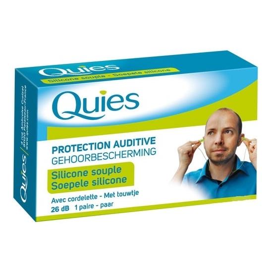Quies bouchons d'oreilles avec cordelette 1 paire